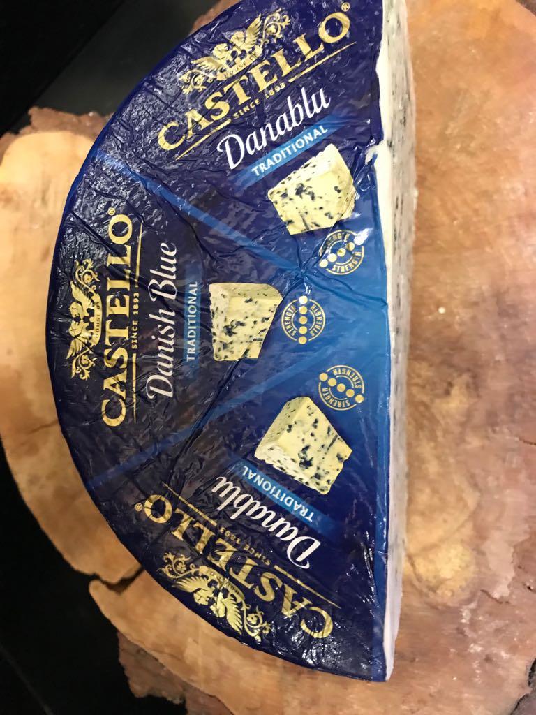 Danish Blue cheese shop