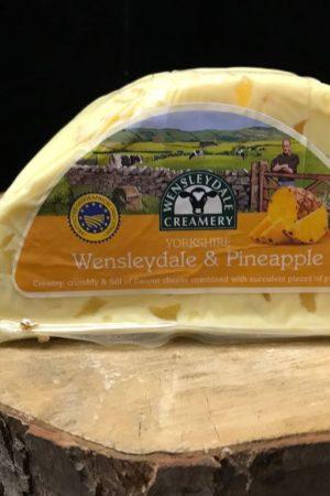 hawes wensleydale pineapple cheese