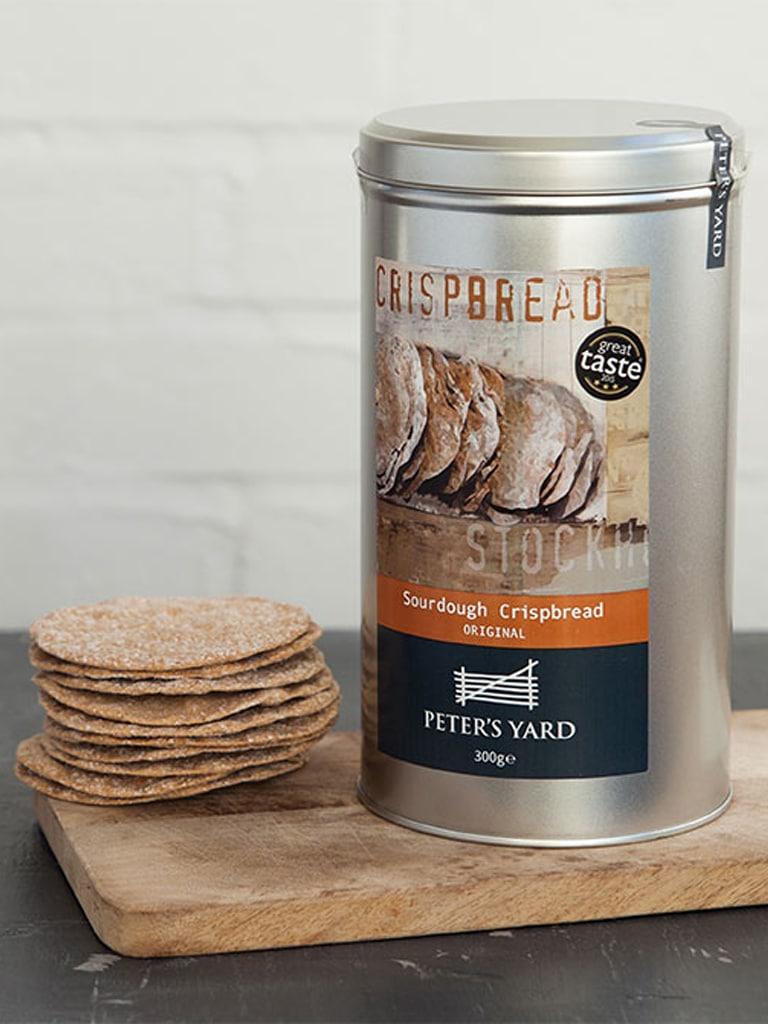 crispbread condiment