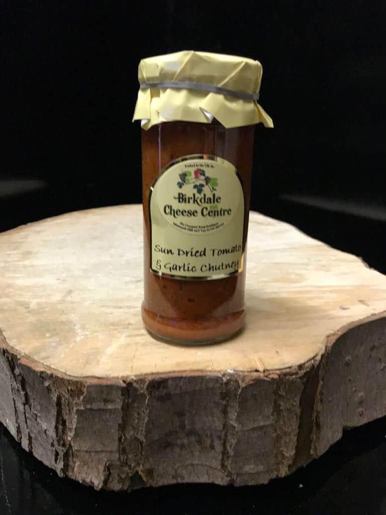 sundried tomato garlic chutney