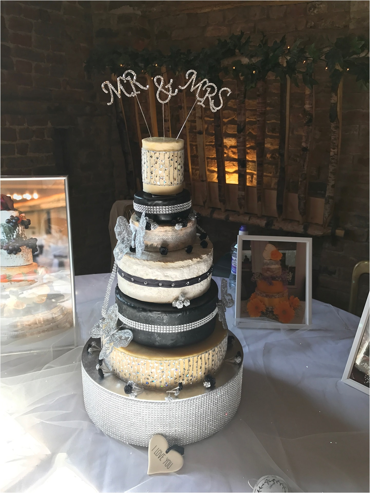 wedding cheese tower