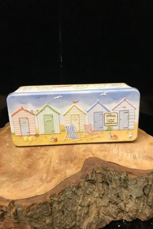 Seaside biscuit tin
